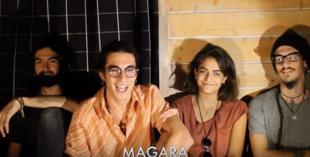 """La banda de indie rock """"Magara"""" (Majadahonda) estrena """"Sal de la Poesía"""" para cantar sobre """"el amor tóxico, la noche o los sueños"""""""