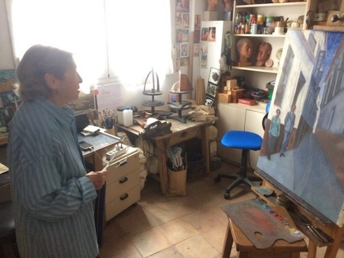 """""""La muchacha que soñaba con ser artista"""": 90º años de la escultora de Majadahonda Carmen Perujo (y V)"""