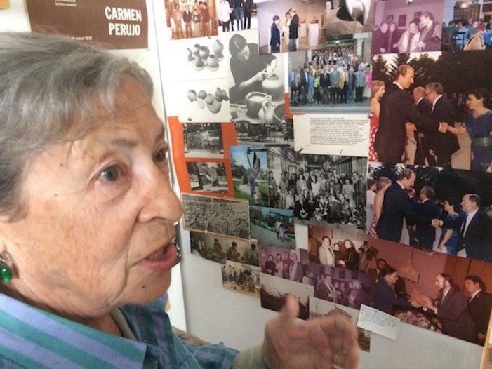 """""""La infancia de Carmen Perujo"""": 90º Aniversario de la escultora de Majadahonda (II)"""