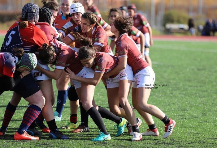 """Rugby Femenino: un CR Majadahonda B """"duro y contundente"""" vence a las Aguilas de Toledo"""