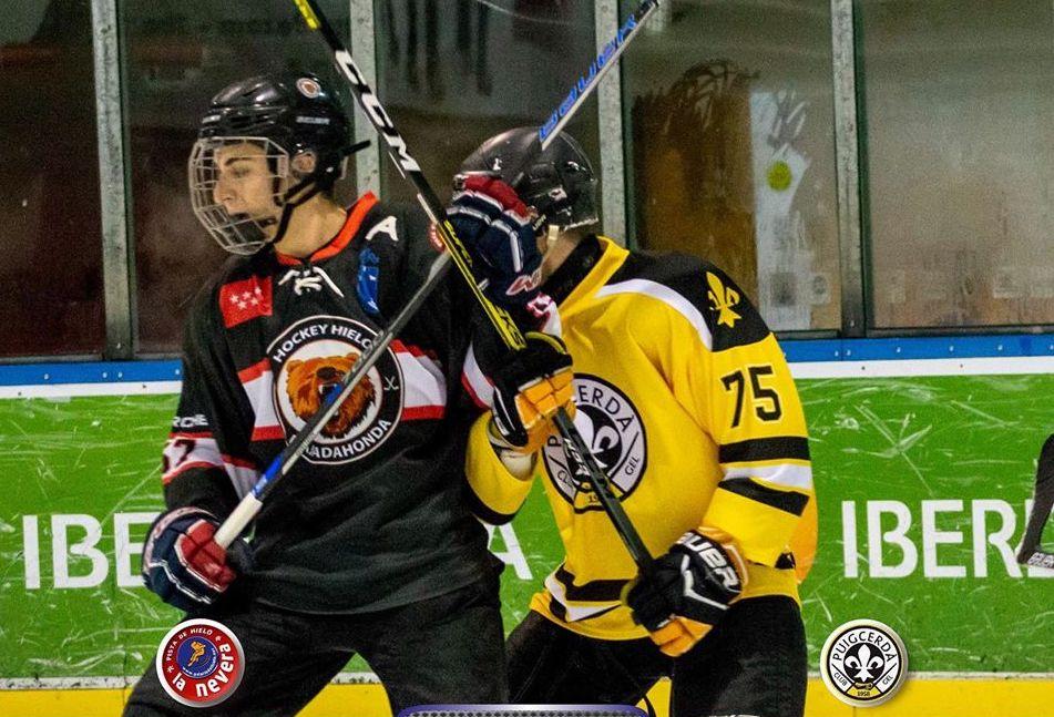 Hockey Hielo: traspiés del SAD Majadahonda en casa (1-4) ante un Puigcerdá que se le sube a las barbas en la clasificación