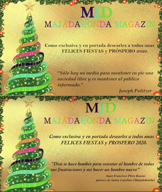 Sociedad Civil, Empresa, Profesionales, Política, Deporte, Prensa, Cultura: más de 150 felicitaciones navideñas a MJD Magazin