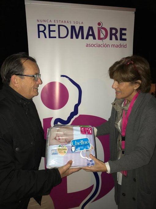 RedMadre agradece a cargos públicos de Vox la recogida de pañales en Majadahonda