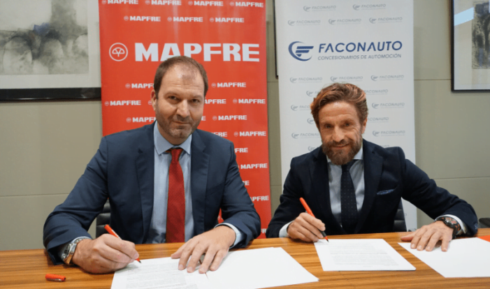 Acuerdo entre Mapfre y Faconauto en Majadahonda para asegurar coches y maquinaria agrícola