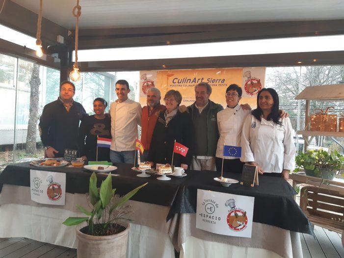 Las reposteras y cocineras María Sánchez y Elena Abad (Mª de Zayas) representan a Majadahonda en CulinArt 2019