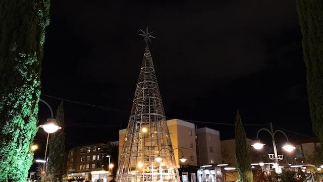 """""""Suspenso"""" al Ayuntamiento de Majadahonda por su escaso y tardío """"espíritu navideño"""""""