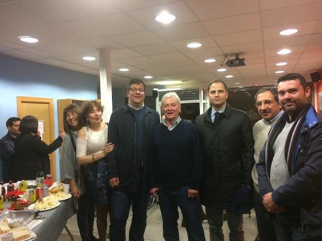 La Copa de Navidad del PSOE Majadahonda atrae a más de 100 personas: discursos y fotos