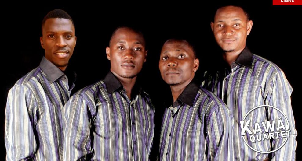 """El """"Kawá Quartet"""" (Uganda) de gospel ofrece un concierto en la Iglesia de Santa María"""