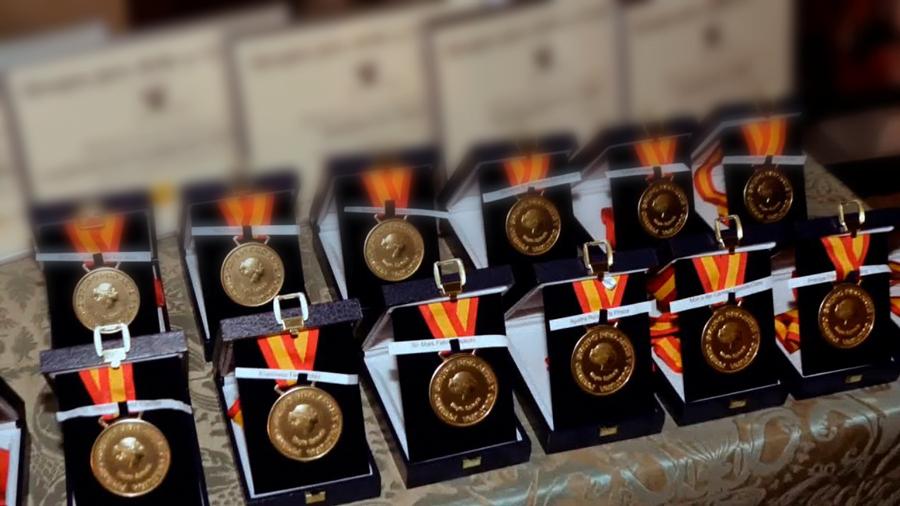 """Un jurado concede en El Plantío las 32 """"Medallas de Oro Mayte Spínola 2019"""" a las artes, ciencias, deporte y solidaridad"""