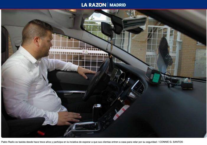 Taxistas de Madrid velan por la seguridad de las mujeres que van a Majadahonda o Pozuelo