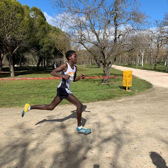 Atletismo: Zena Sáez (Majadahonda), campeón cadete de Madrid en Campo a Través