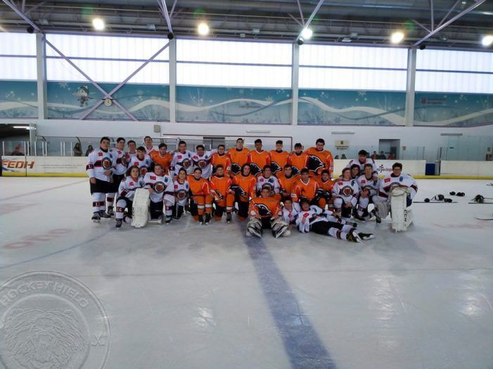 Hockey Hielo Femenino: SAD Majadahonda se hace más líder en La Rioja (2-13)