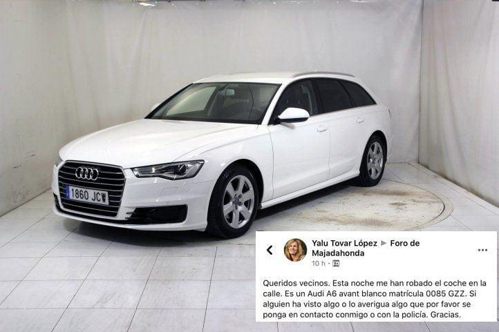 """Prosiguen los robos en Majadahonda: Audi A-6, bicicleta Rockrider y bolso en """"El Antojo"""""""