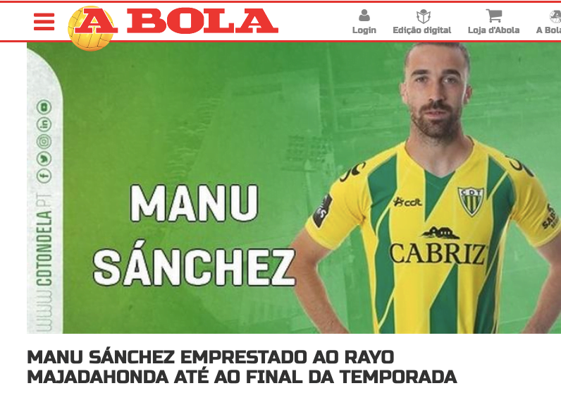 Fútbol Majadahonda (fichajes): Manu Sánchez y Toni Martínez (Portugal), Pere Martínez (Burgos), Rufo (Pontevedra) y Mesa (Extremadura)