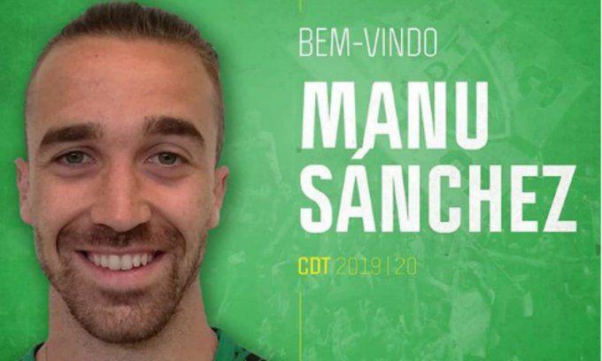 Manu Sánchez, primer fichaje de invierno del Rayo Majadahonda procedente de la 1ª División de Portugal (CD Tondela)