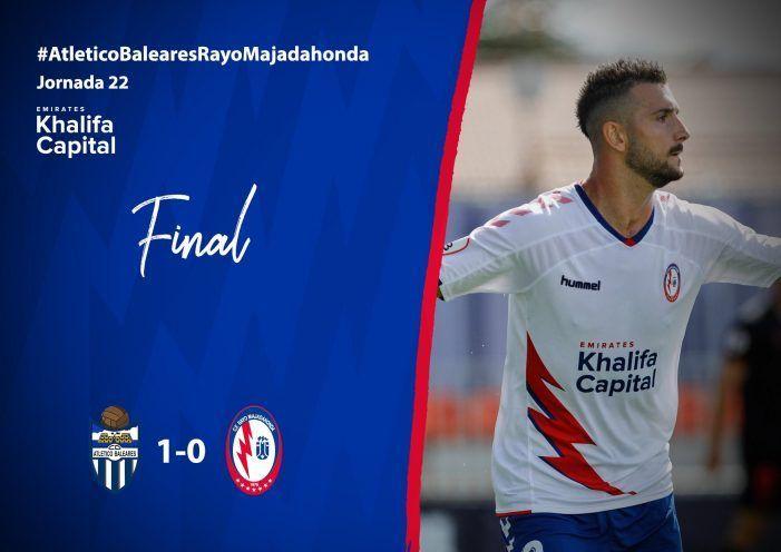 """Rayo Majadahonda se cae de la """"Mesa"""" y se queda sin comer en Baleares (1-0)"""