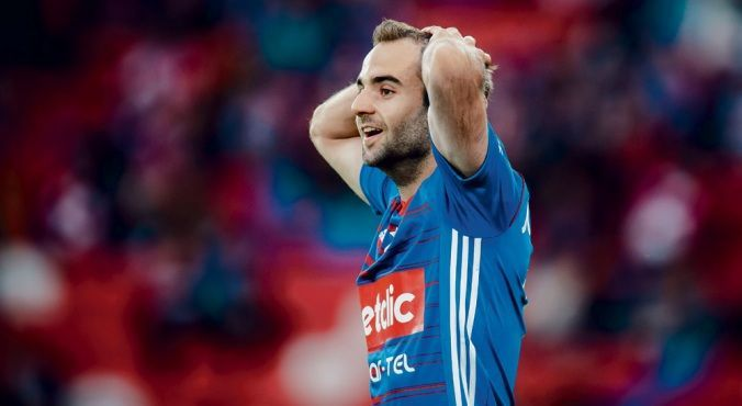 """El futbolista Jorge Félix (ex Rayo Majadahonda) desde Polonia: """"Para jugar sin afición es mejor quedarse en casa"""""""
