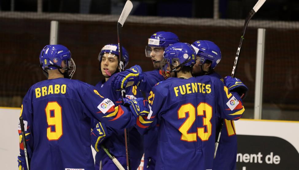 Hockey Hielo: 7 jugadores del Majadahonda con España en la final del preolímpico contra Países Bajos