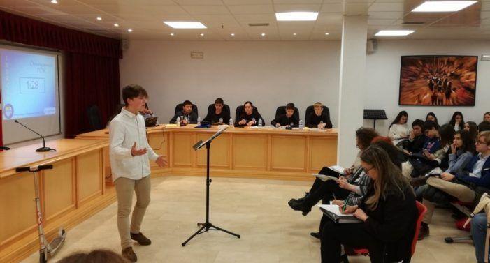 """Instituto Saramago (Majadahonda) pierde contra Leganés por solo medio punto la final del Debate 2020 sobre """"comida basura"""""""