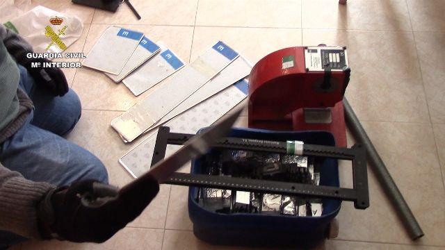 Guardia Civil desarticula una banda que robaba coches en Las Rozas, Majadahonda y Boadilla: las fotos de la operación
