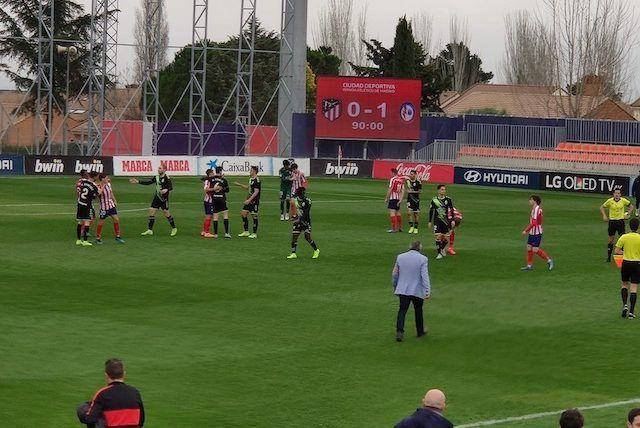 Rayo Majadahonda se reengancha al play off por la puerta grande contra el At. Madrid (0-1)