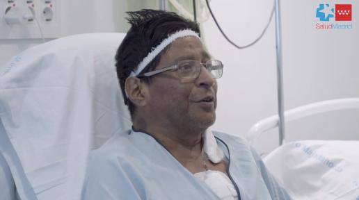 """""""Podré ver a mis nietas"""", dice el ecuatoriano con un nuevo corazón desde Majadahonda"""