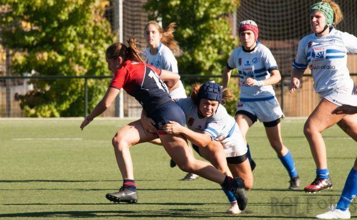 Rugby Femenino: CR Majadahonda se lleva el derby contra el Pozuelo y planta cara al liderato sevillano