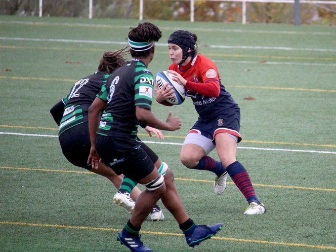 """Rugby Femenino: las """"cocos"""" de Sevilla derrotan al CR Majadahonda (11-3) y le arrebatan el liderato"""