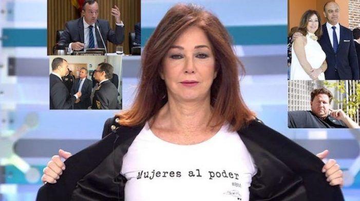"""El comisario Villarejo grabó al marido de Ana Rosa para hablar sobre """"Peñita"""" (Majadahonda) y """"Paco Bomba"""" (Boadilla)"""