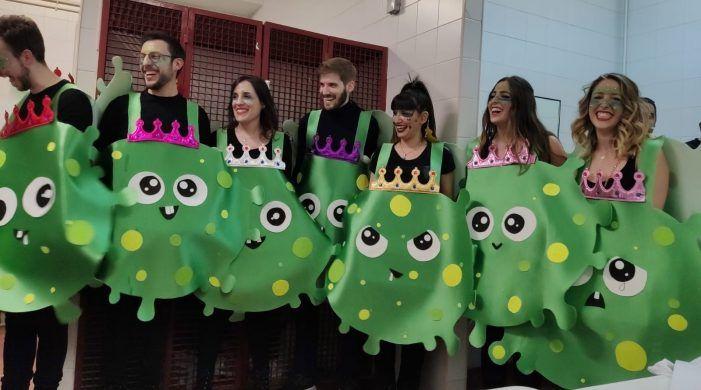 """El disfraz de """"Coronavirus"""" gana el Concurso de Carnavales 2020 de Majadahonda"""
