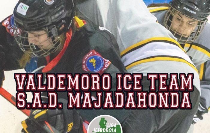Hockey Hielo: reñida final femenina Valdemoro-Majadahonda y desembarco de jugadores suecos para potenciar la liga masculina
