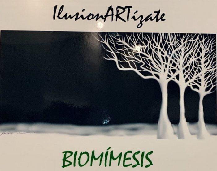 """La Casa de la Cultura de Majadahonda inaugura la exposición """"Biomímesis y el Arte"""""""