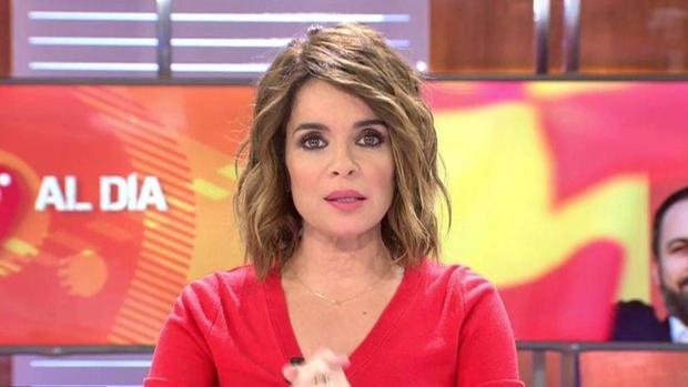 """La periodista de TV Carme Chaparro desde Majadahonda: """"Lo peor del coronavirus está al llegar y la histeria no ayuda"""""""