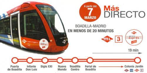 El Gobierno promete Cercanías a Boadilla en 2025 y descarta ampliar la M-50 en Majadahonda y Las Rozas