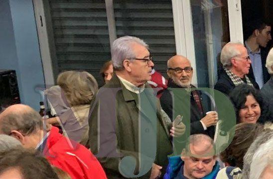 La única foto conocida del suegro de Pedro Sánchez en el PSOE de Majadahonda antes del coronavirus