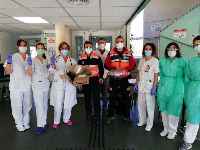 """Un concejal de Vox rompe el """"bloqueo"""" informativo en Majadahonda e informa de su labor contra el coronavirus"""