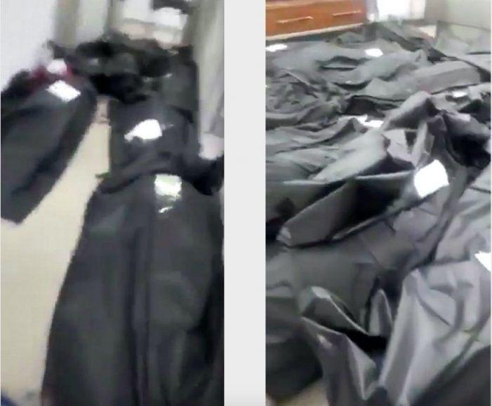 """Un vídeo (Daily Star) confirma la denuncia de la enfermera de Majadahonda: """"cuerpos en los suelos"""""""