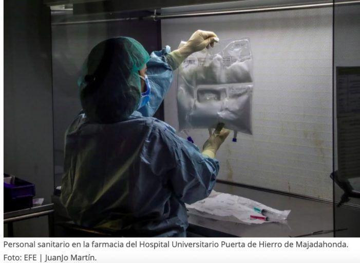 """Hospital Majadahonda: """"mejoría en la pandemia y disminución de los pacientes"""""""