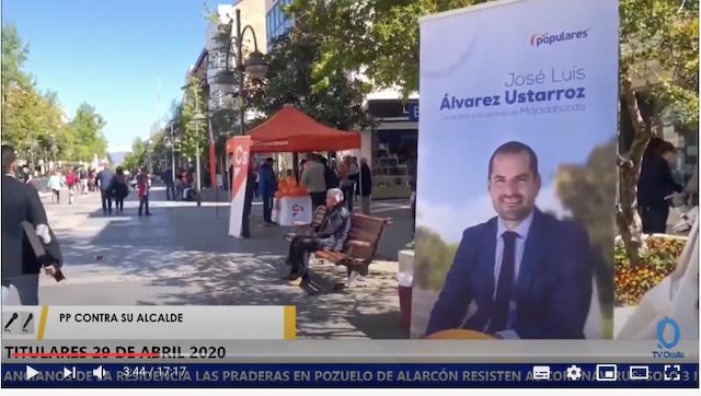 """TV Oeste: vídeo del PP contra el asfalto, Villarejo y sus casas, el """"Cholo"""" y Las Praderas (Pozuelo) y nido de amor de Merlos y Alexia en Boadilla"""