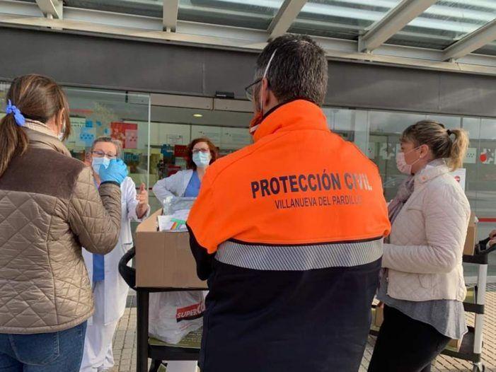 El Ayuntamiento de Villanueva del Pardillo reparte las mascarillas con voluntarios para ahorrar gastos de distribución