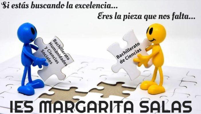 Instituto Margarita Salas de Majadahonda logra el Bachillerato de Excelencia en Ciencias Sociales y abre plazo para su inscripción