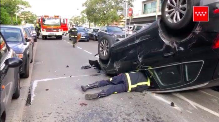 TV Oeste: grave accidente en Pozuelo, críticas y solidaridad en Majadahonda, Netflix en Boadilla y Deportes
