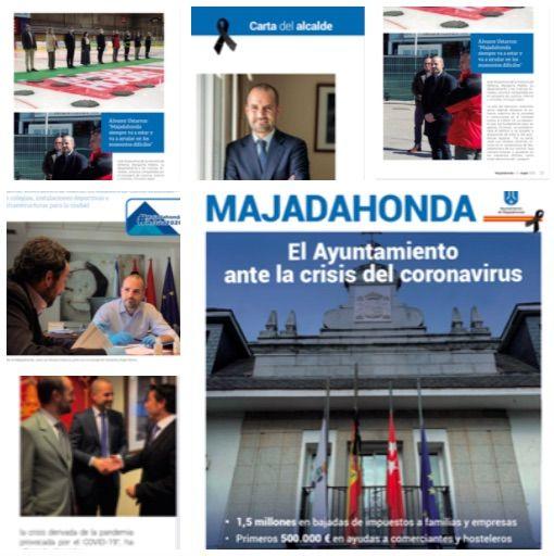 """JMª Rojas: """"El derroche económico de la Revista Municipal de Majadahonda recuerda a la Prensa del Movimiento"""""""