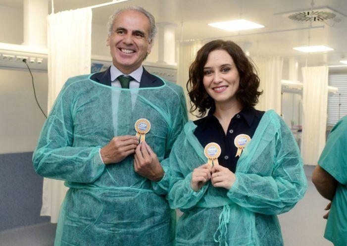 Isabel Ayuso autoriza a los alcaldes del PP de Pozuelo y Torrejón a realizar tests masivos sobre coronavirus