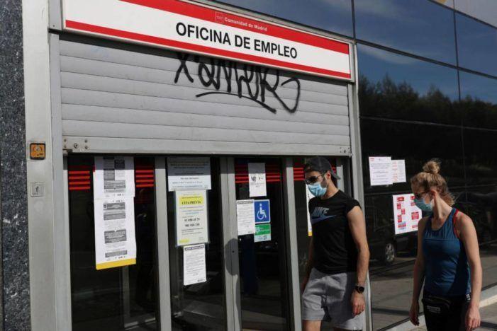 El paro se dispara en Villalba, Las Rozas, Pozuelo, Majadahonda, Galapagar y Boadilla