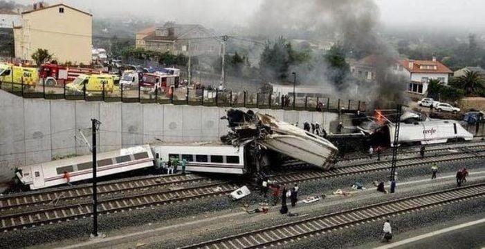 """El """"estado de alarma"""" obliga al Juzgado de Majadahonda a suspender declaraciones por el """"caso Alvia"""": 80 muertos del Talgo en Galicia"""