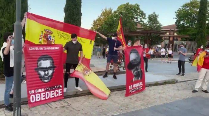 Las Rozas, Majadahonda y Boadilla encabezan las caceroladas contra el Gobierno