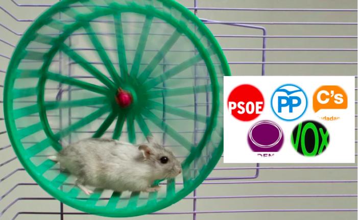"""Alfonso Reina (Cs): """"No podemos seguir en Majadahonda como en la rueda de un hamster"""""""