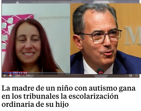 La Consejería de Educación de la Comunidad de Madrid obligó a una vecina de Villalba a llevar a su hijo autista a Majadahonda