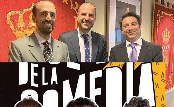"""JMª Rojas: """"Concejales de PP-Vox Majadahonda son dignos de las películas de Scorsese, el Club de la Comedia o los Hermanos Marx"""""""